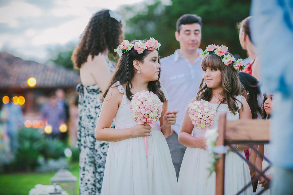 Meninas em casamento em Búzios-DF