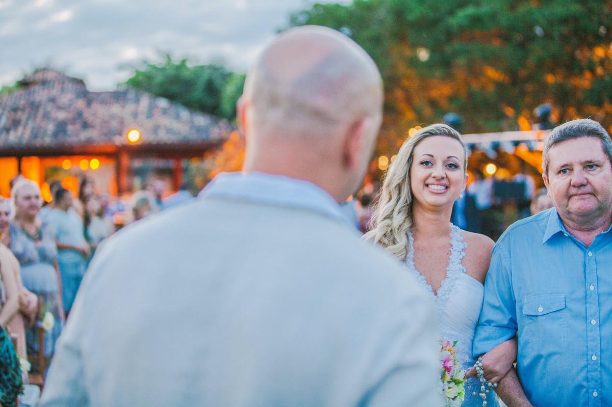 Noiva vendo noivo pela primeira vez em Búzios-RJ