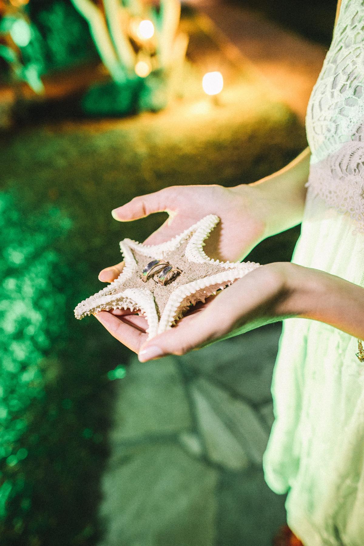 Alianças de casamento em Búzios-RJ