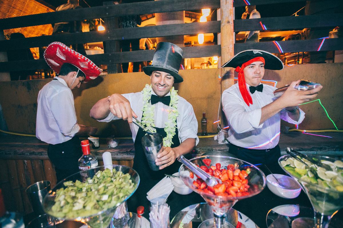 coqueteis e batidas alcoolicas em casamento  www.rafaelohana.com