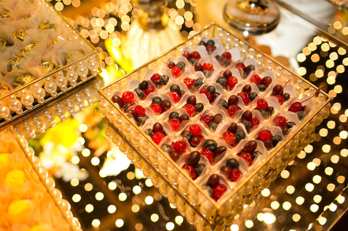 doces deliciosos do casamento
