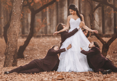 Trash the Dress e Day After de Beyond the Walls