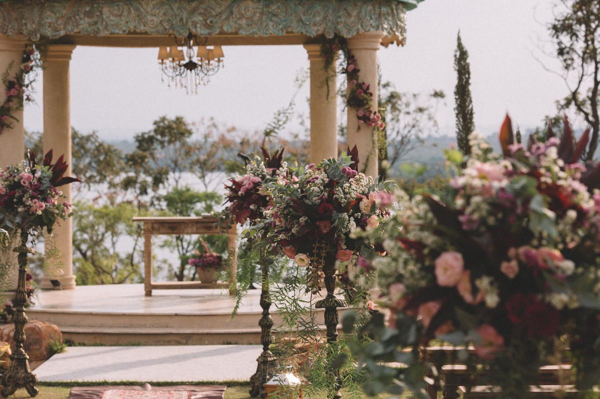 Decoração de casamento do Villa Giardini em Brasília