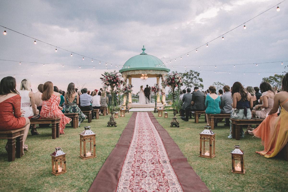 Decoração de casamento no Villa Giardini em Brasília-DF