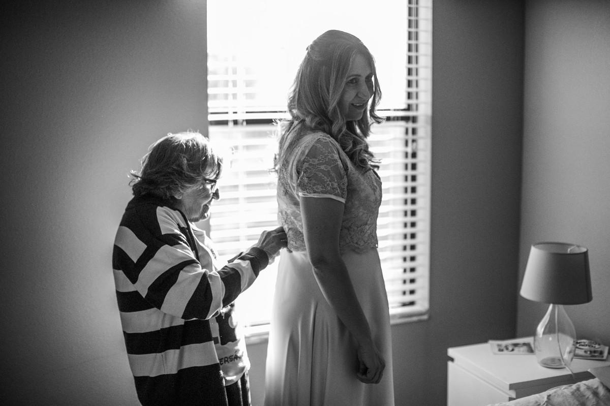 making of de casamento feito em casa em Orlando-FL