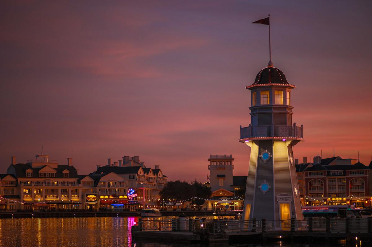 Boardwalk na Disney em Orlando na Florida