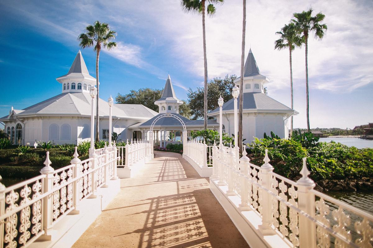 Capela da Disney Wedding Pavillion