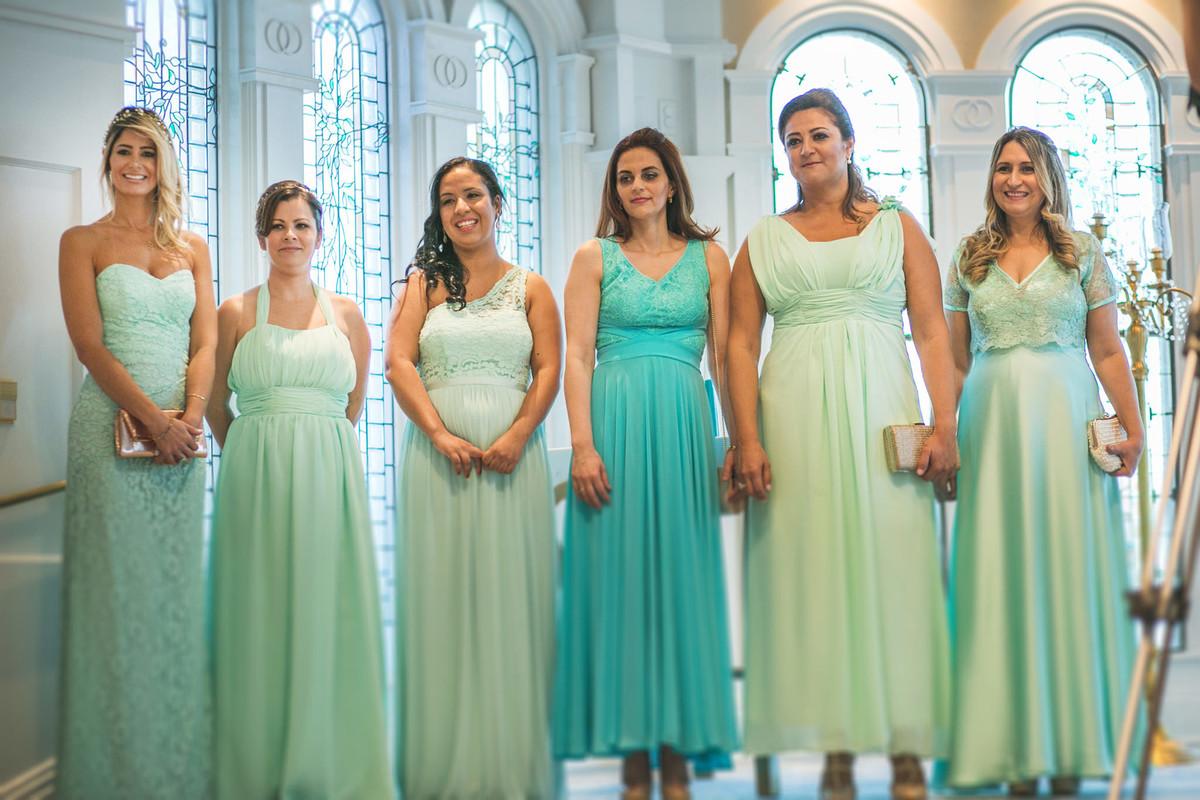madrinhas no Wedding Pavillion