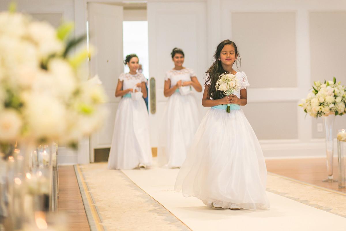 Daminhas em casamento na Disney