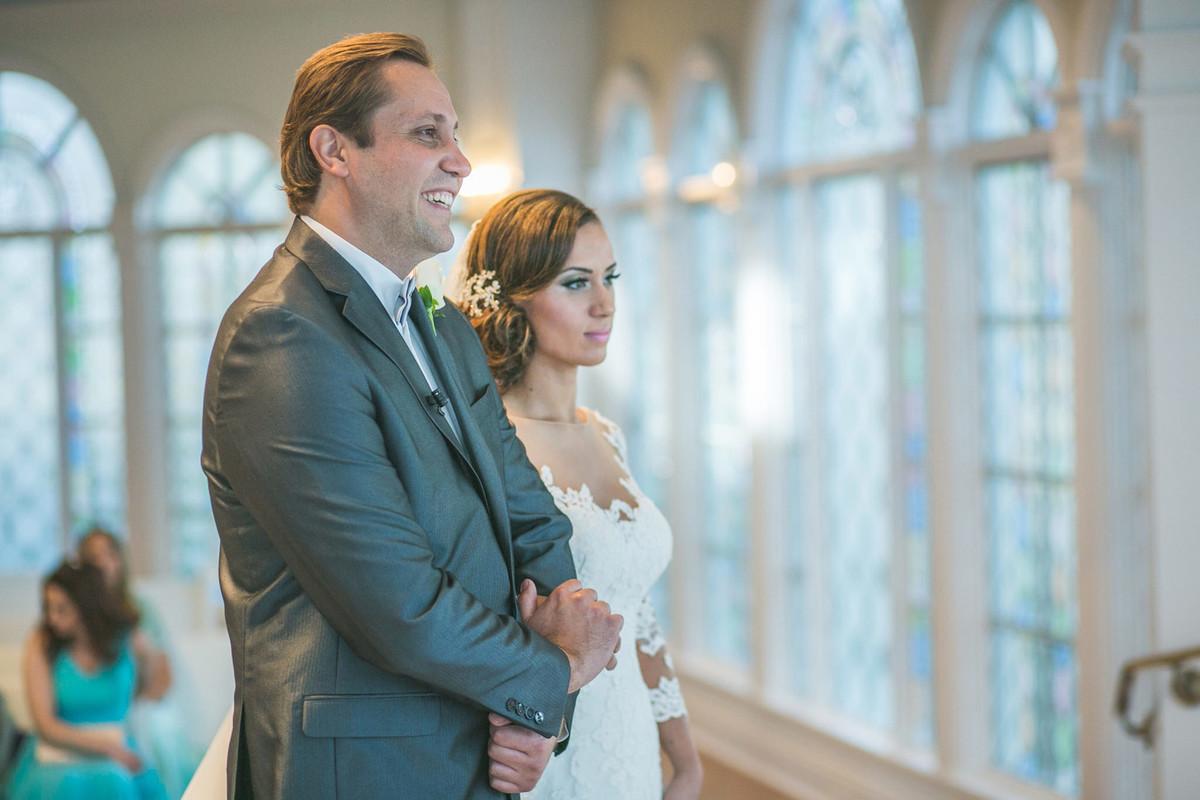 Casando na Disney em capela