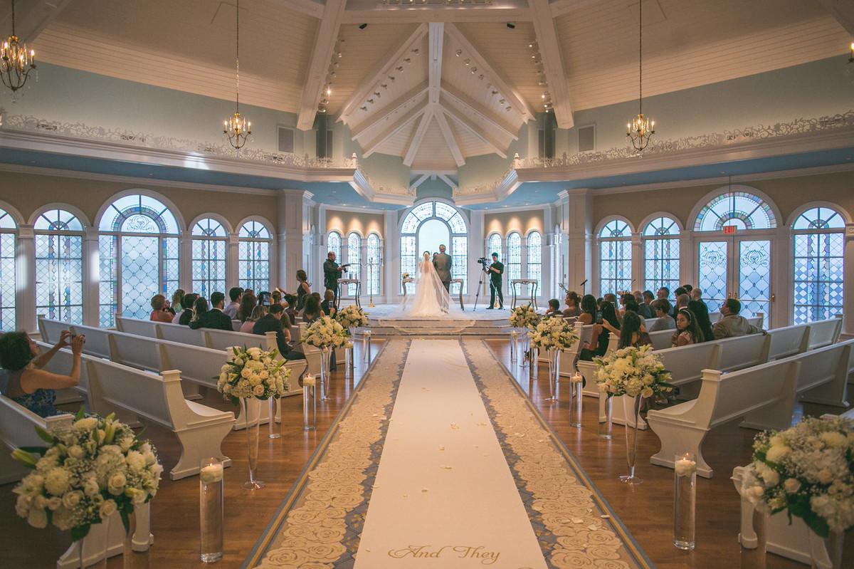 Casamento na Disney feito pelo fotografo Rafael Ohana