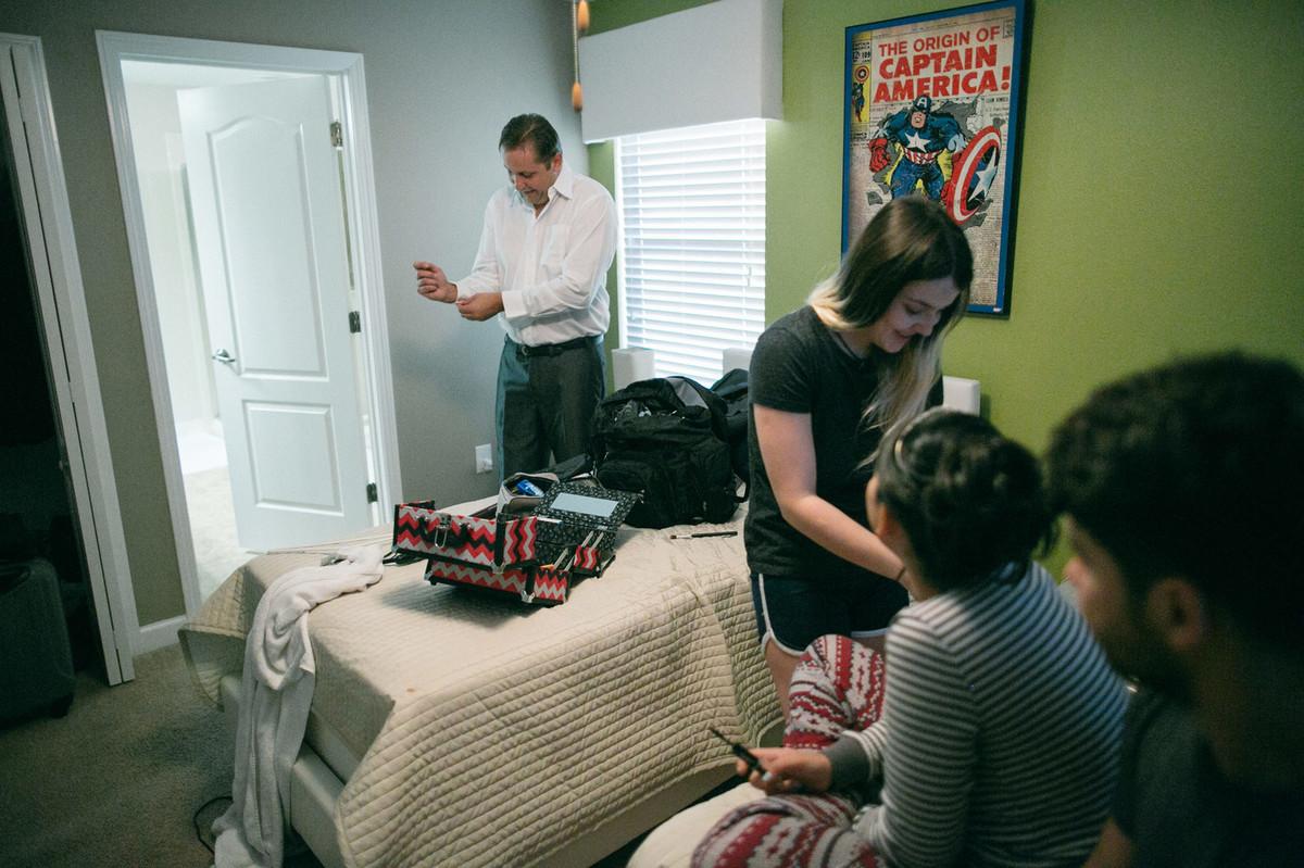 making of de casamento em casa airbnb em Orlando-FL