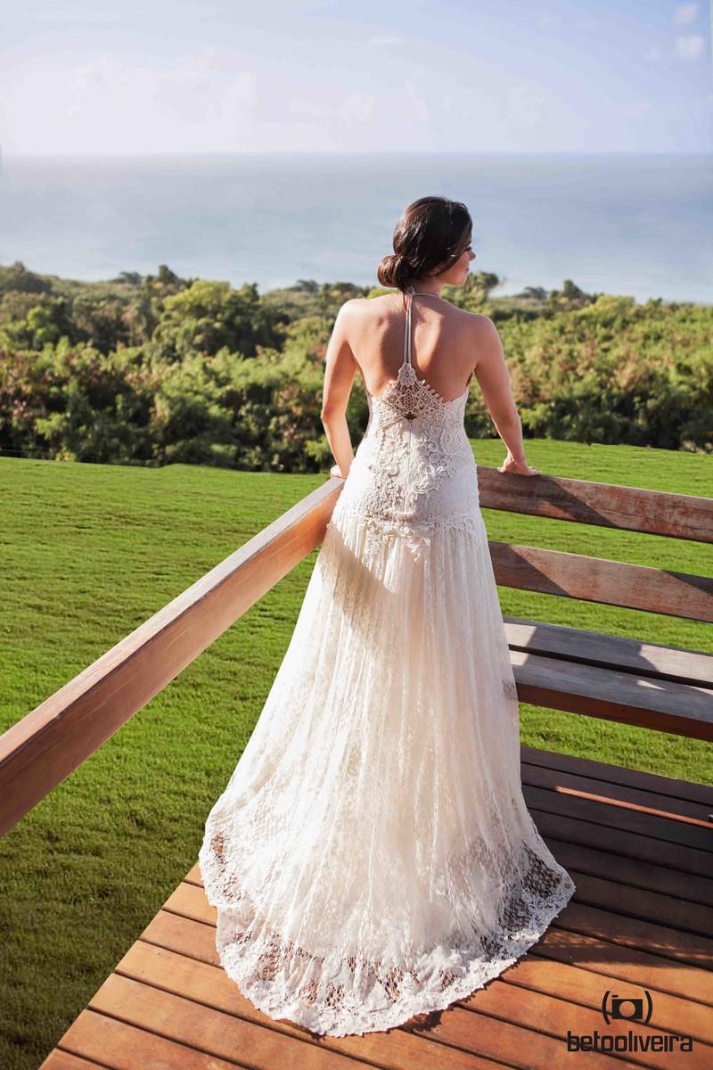 noiva, vestido de noiva, casando em Noronha, destination wedding