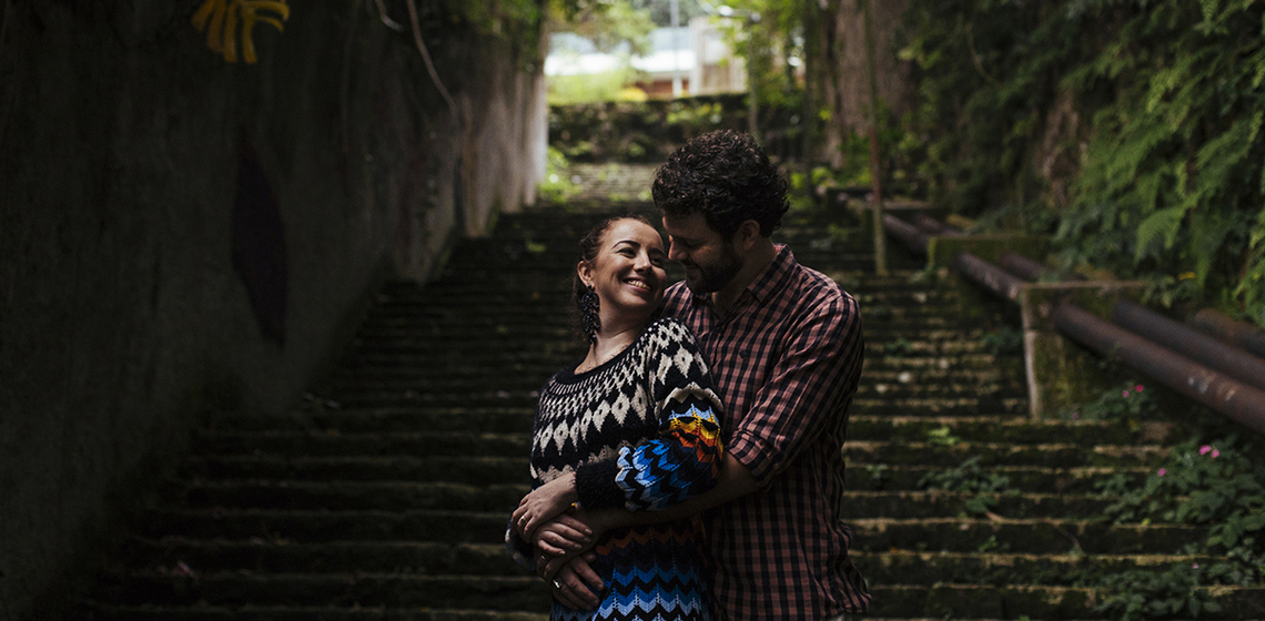 Ensaio Nina e Caio