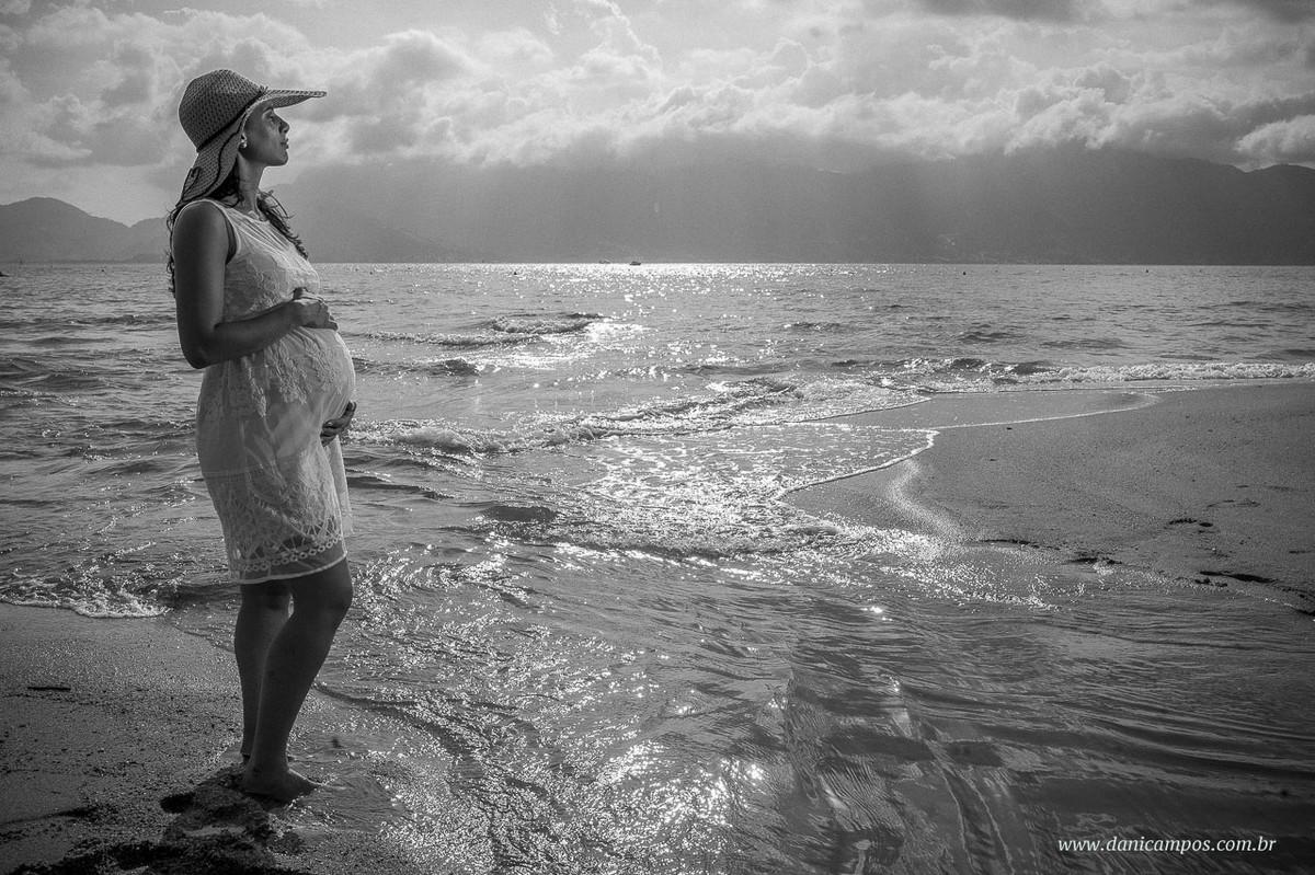 ensaio gestante na praia, dani campos fotografia, ensaio gestante, fotografia gestante, Ilha Bela, por do sol