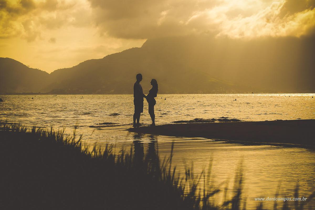 dani campos fotografia, fotografia gestante, maternidade, dani campos, por do sol, Ilha bela