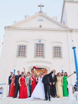 Casamentos de Luana e Raphael em Saquarema - RJ