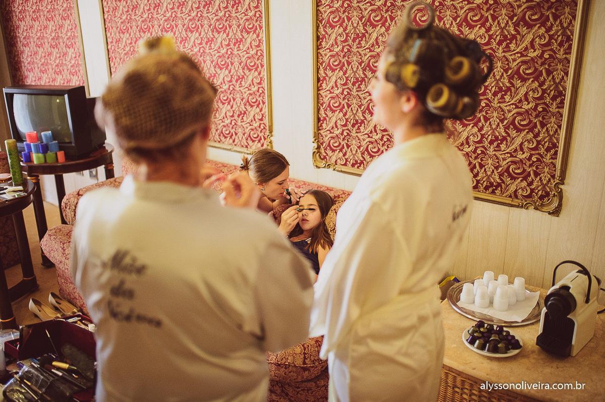 Casa do folclore, Alysson Oliveira, making off de noiva, making off Giovanna, mãe no making off,