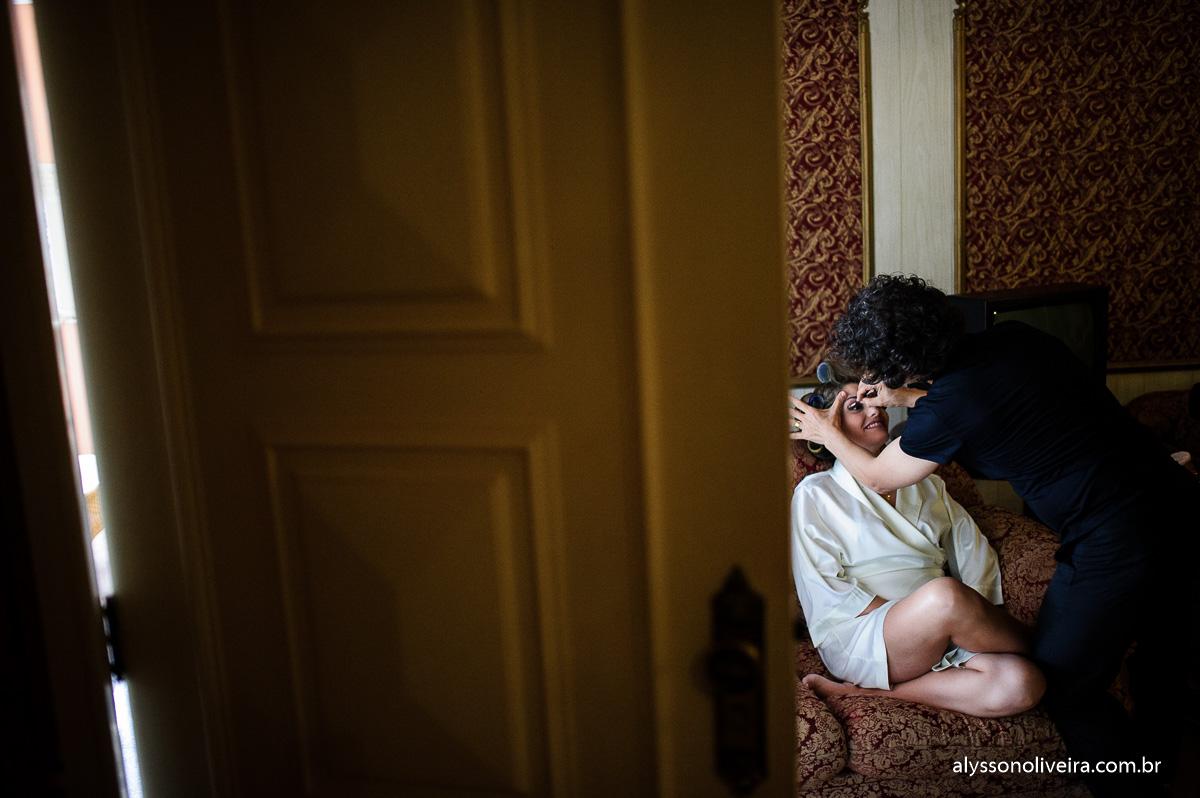 Casa do folclore, Alysson Oliveira, making off de noiva, making off Giovanna, mãe no making off, make de noiva, maquiagem de noiva, Frank Prado, cabelo de noiva