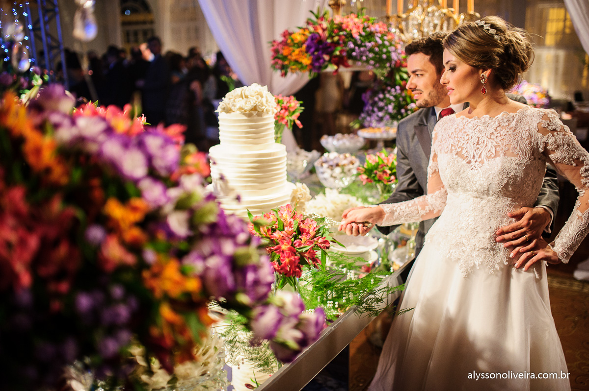 Provence Buffet, Gmix decorações, casa do folclore, corte do bolo