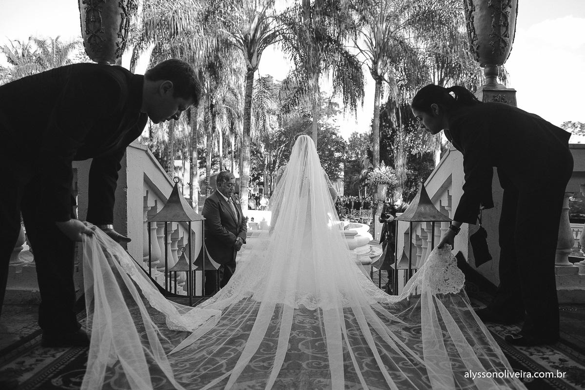 Casamento de dia, casamento durante o dia, Wedding Day, veu de noiva, mantilha de noiva