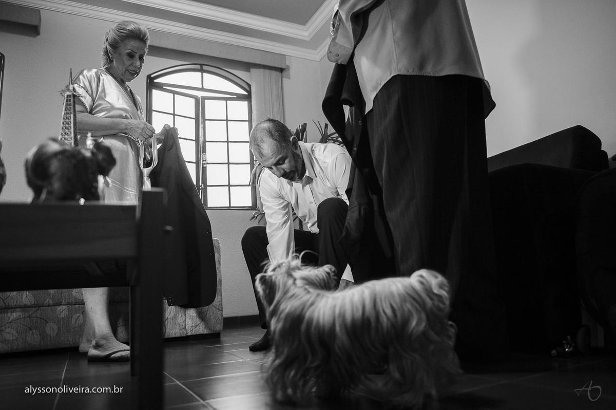 Alysson Oliveira fotografia de Casamento, Fotografo de Casamento no Brasil, Making off do noivo, gravata de noivo, sapato de noivo