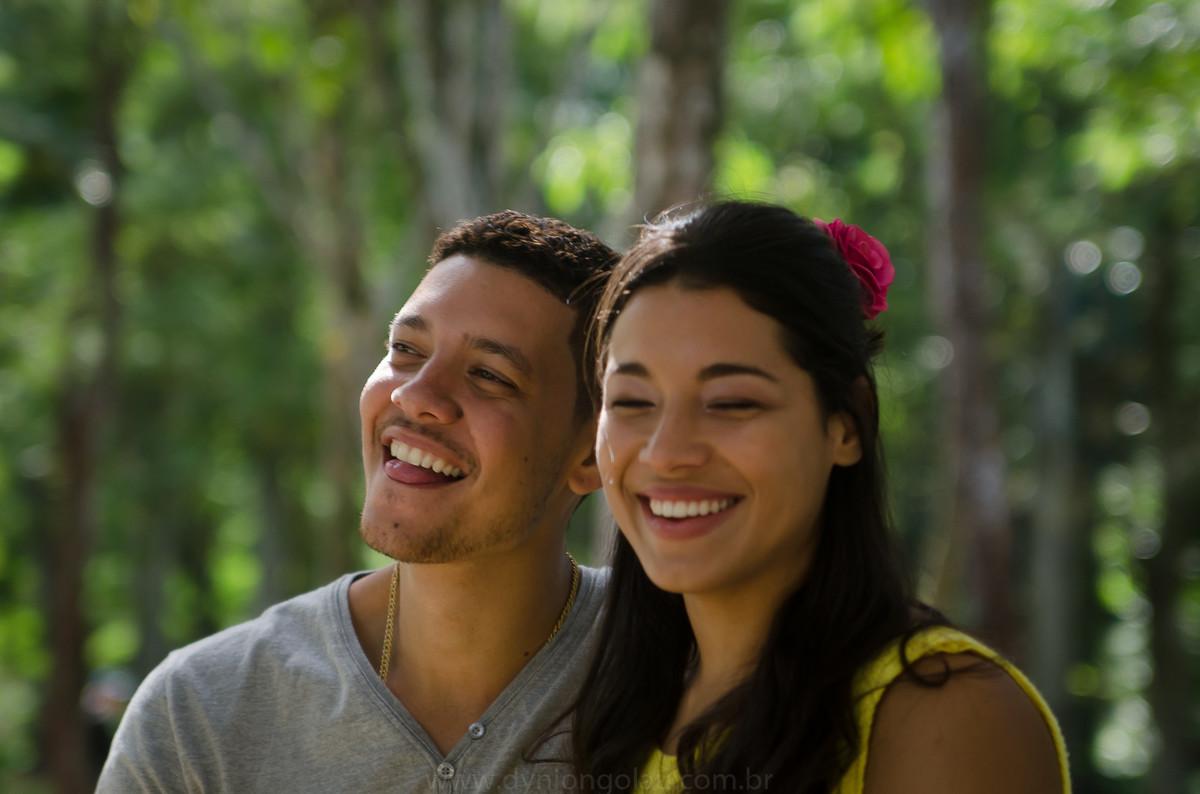 Sorrindo sempre juntos
