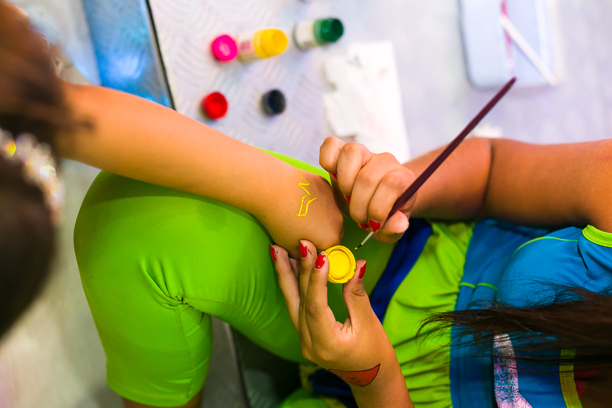 Pintura Artística festa infantil