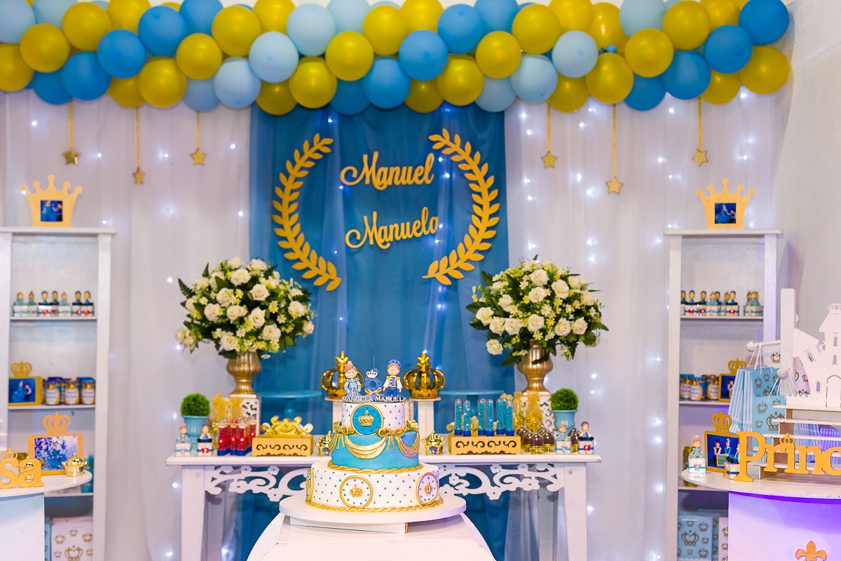 Tema festa infantil principe e princesa