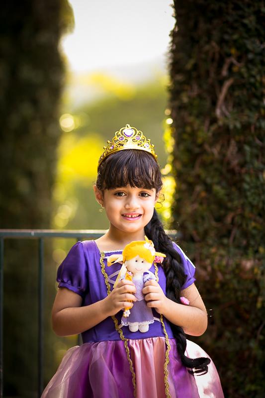 Ensaio Princesa Rapunzel