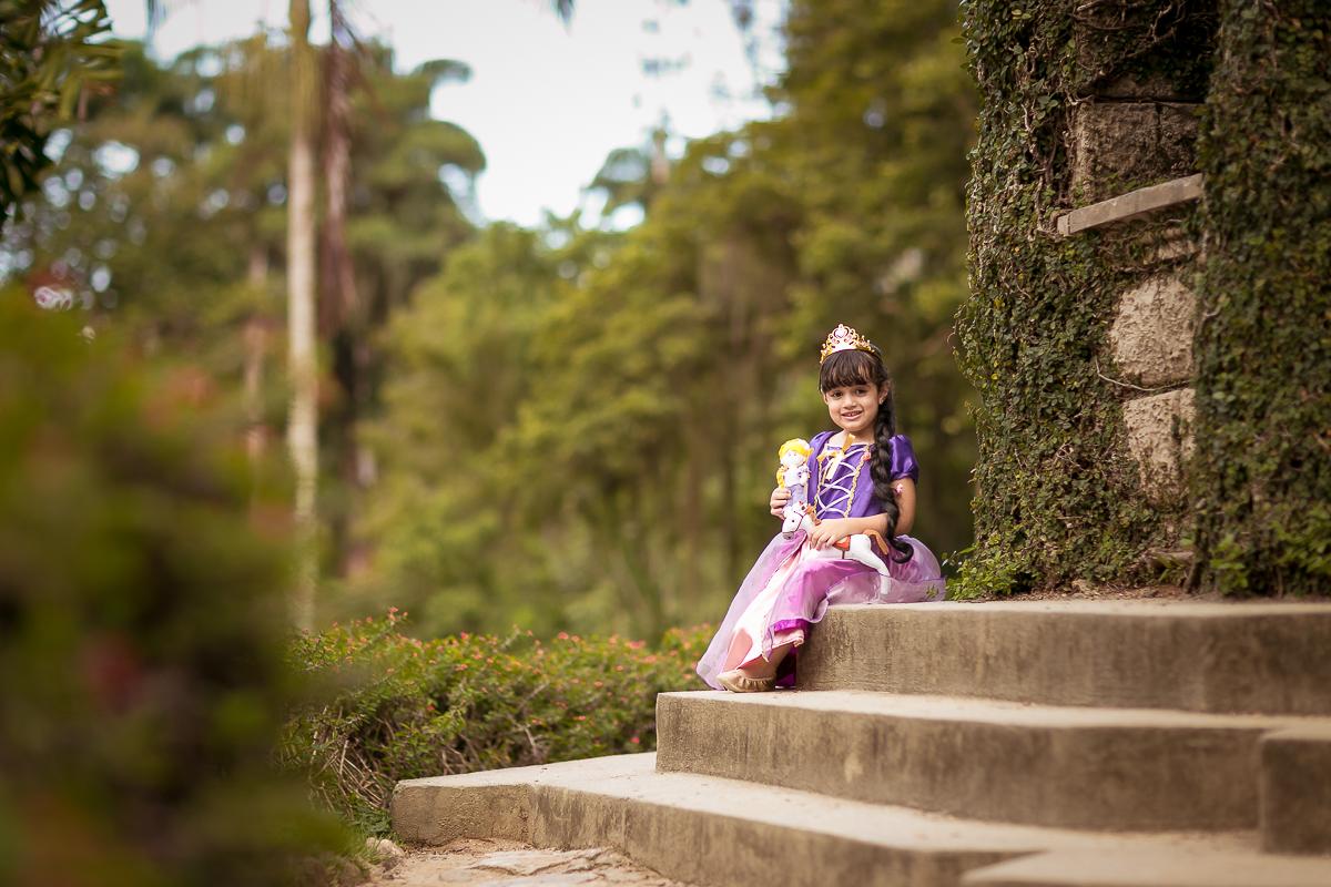 Ensaio Jardim Botânico Rapunzel
