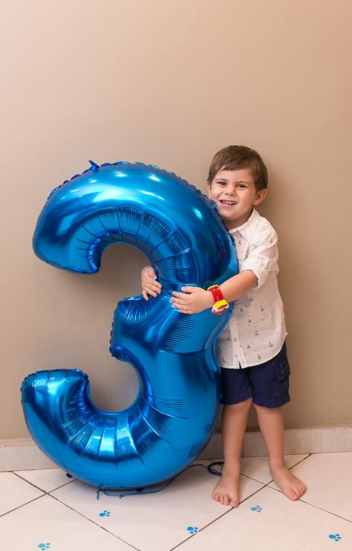Festa infantil 3 anos