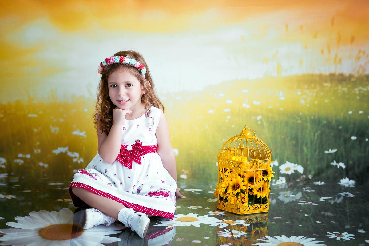 Fotografia  infantil menina
