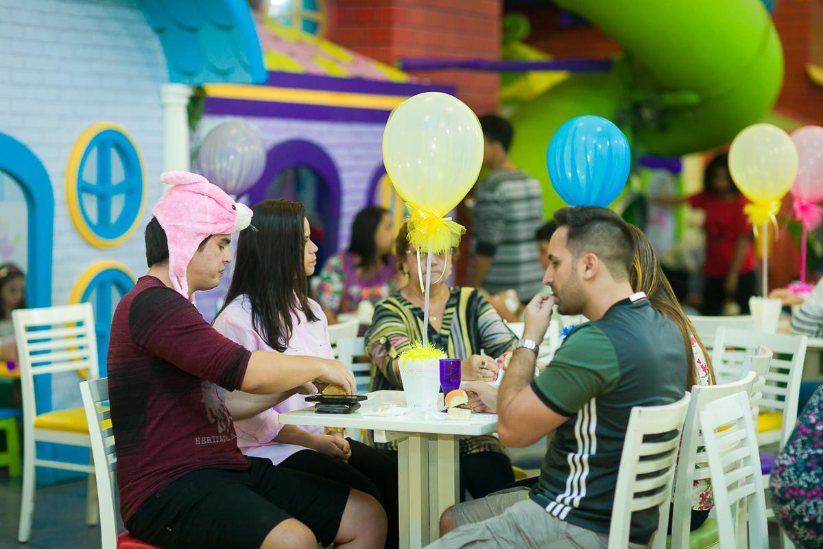 Fotografia dos convidados Casa de festas ImaginaArte