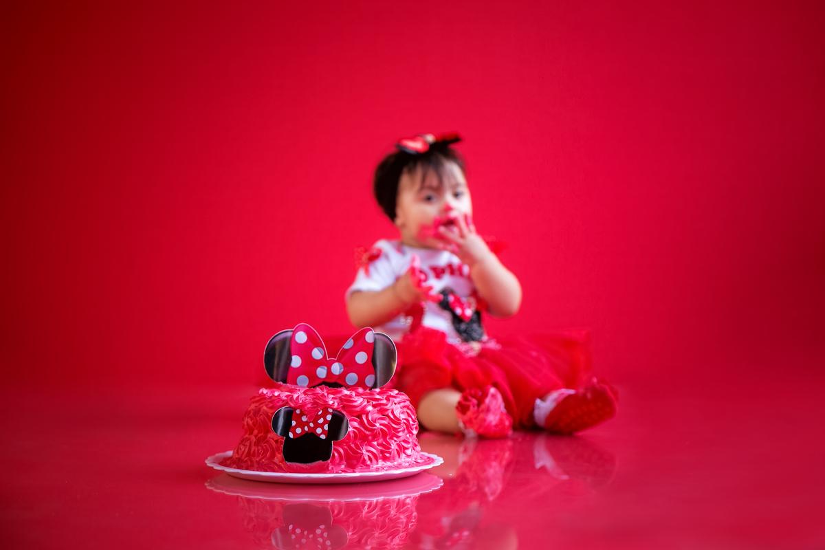 Ensaio infantil Smash the cake