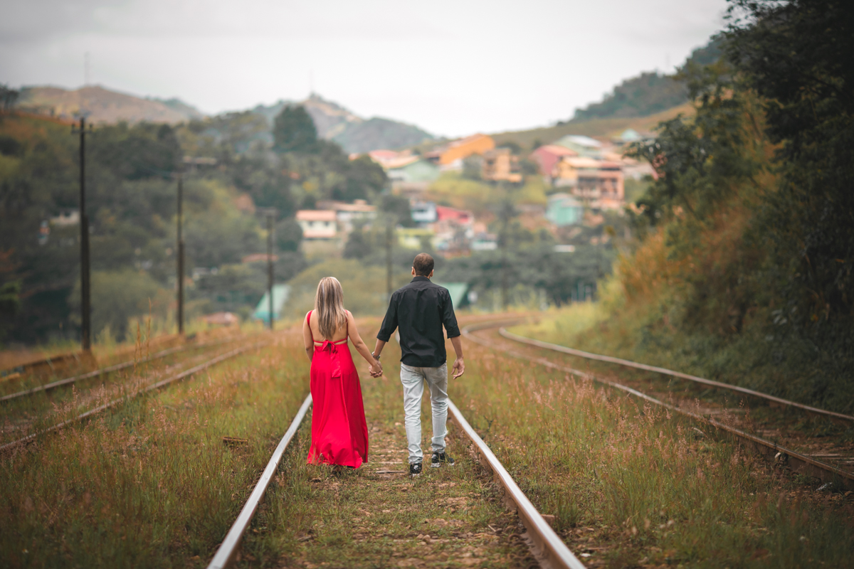 Ensaio romântico Pré-Wedding Sahy