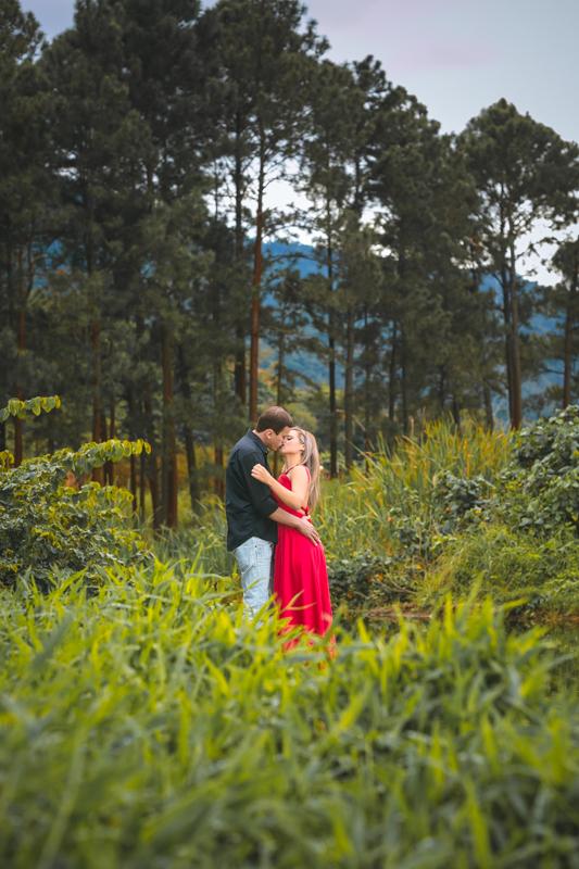 Ensaio pré-wedding na floresta Mangarativa RJ