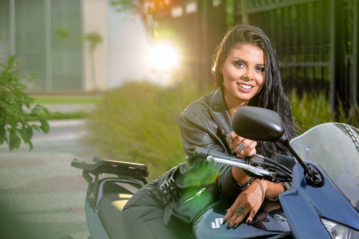 Ensaio Moto Girl