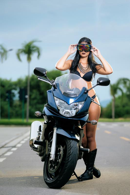 Fotografia Temática Moto Girl
