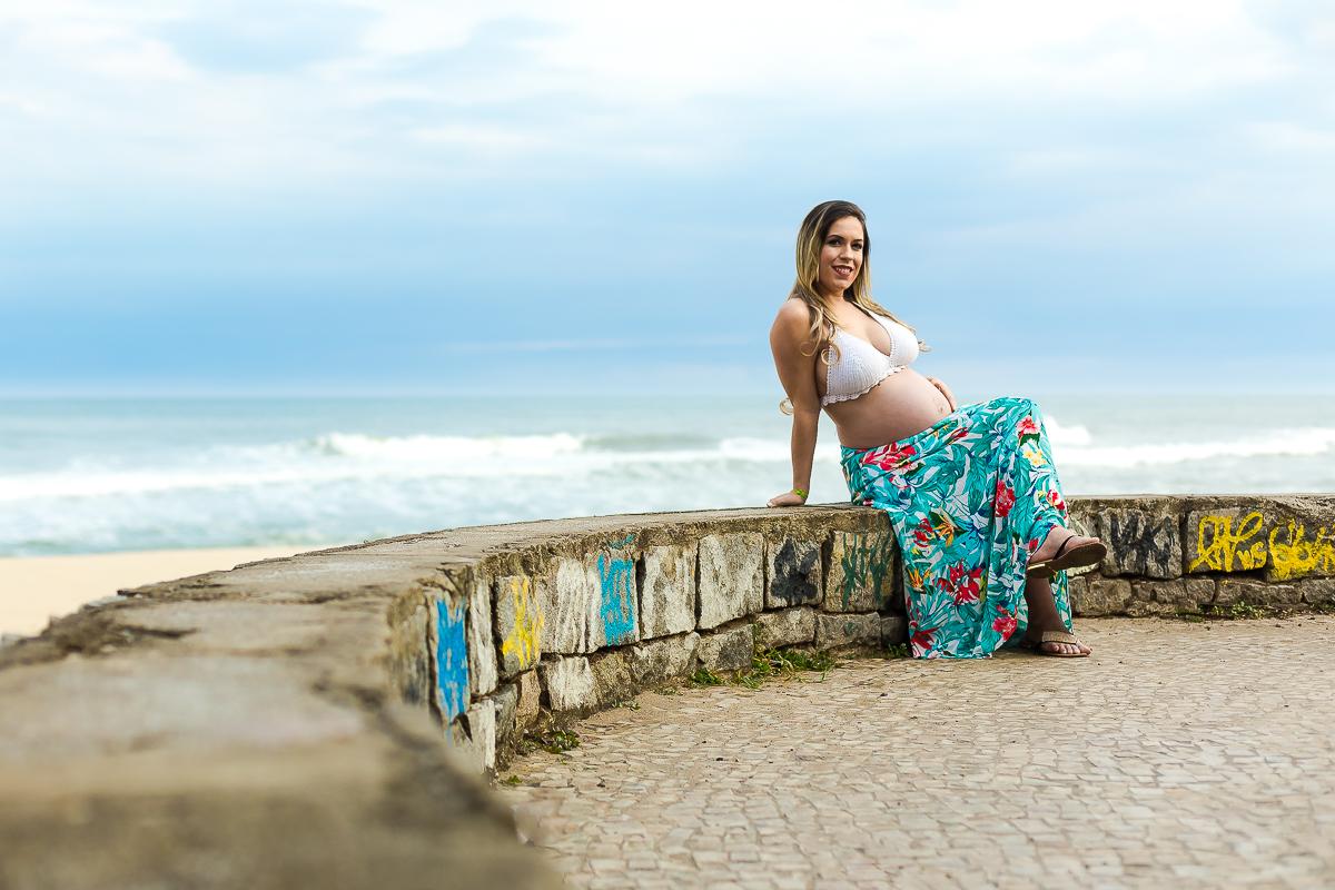 Praia do Pontal Ensaio Gestante