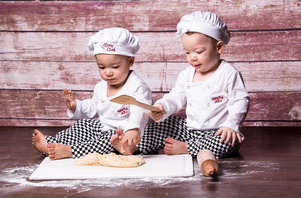 Ensaio Cozinheiro Infantil