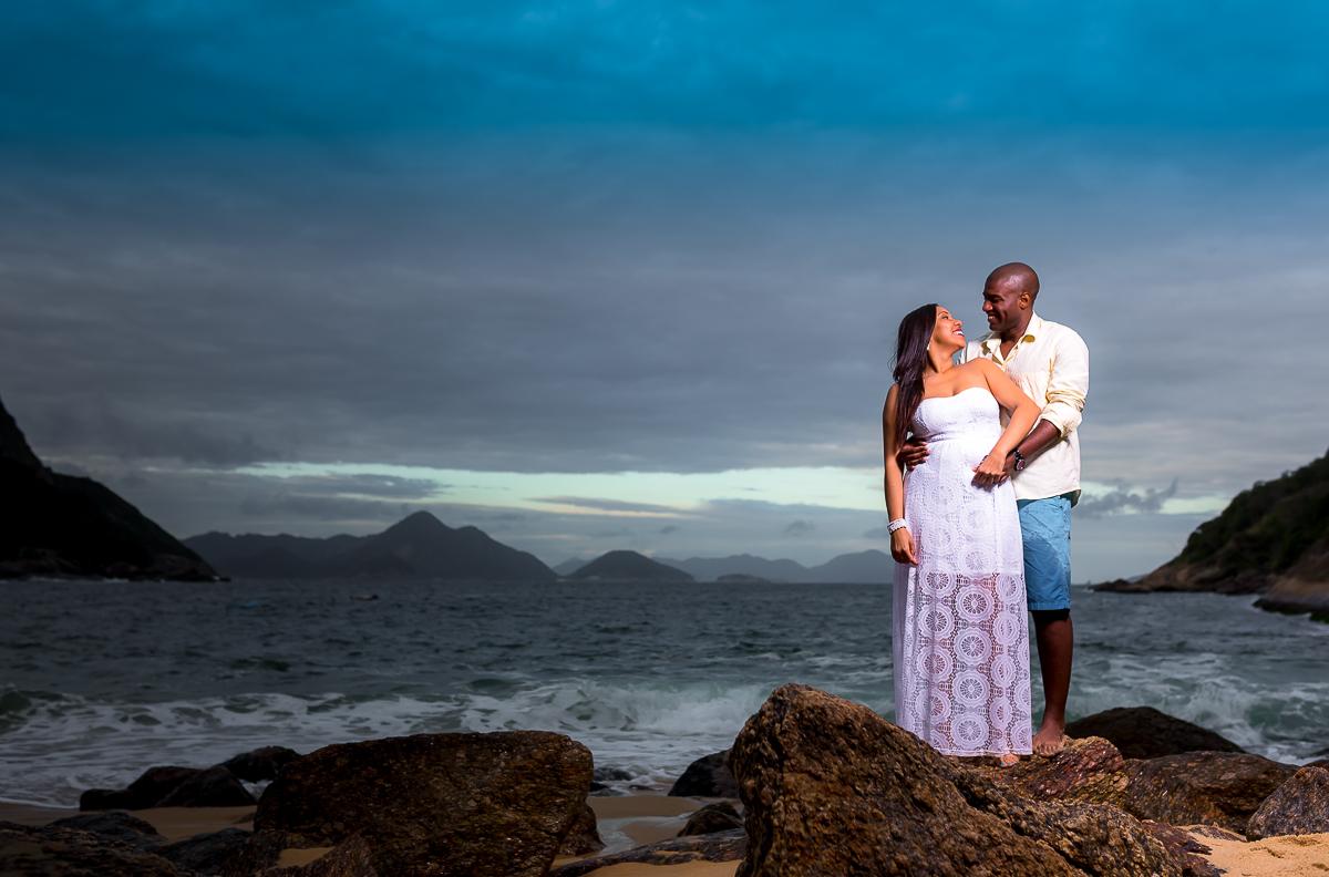 Felicidade ensaio casal Urca
