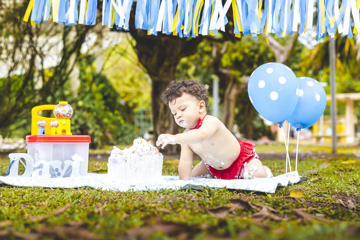 Mini ensaio Smash de Cake