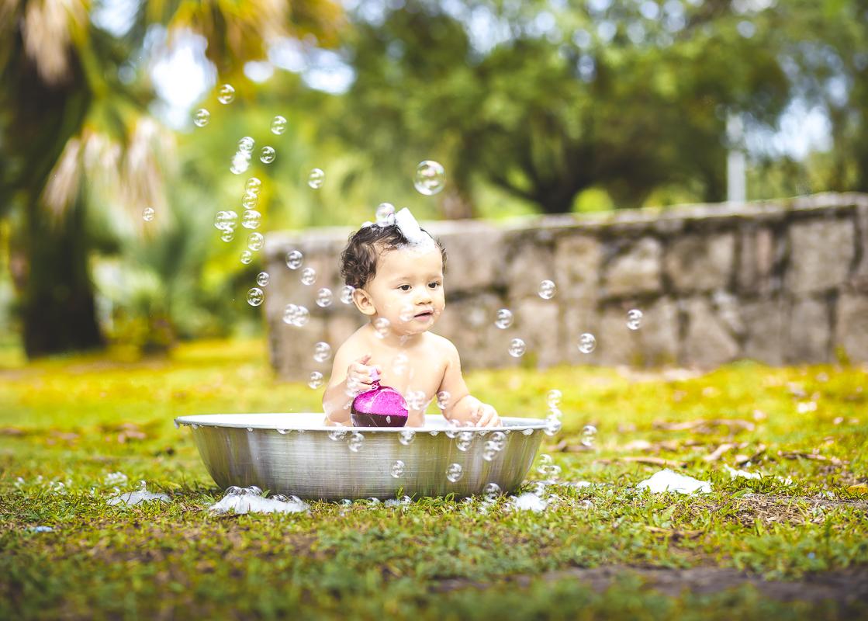 Splash menino