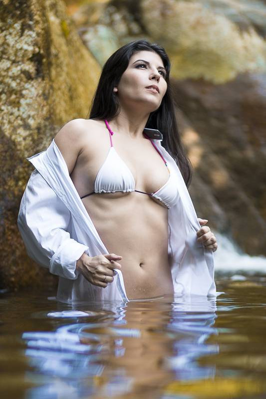 Ensaio  moda cachoeira RJ