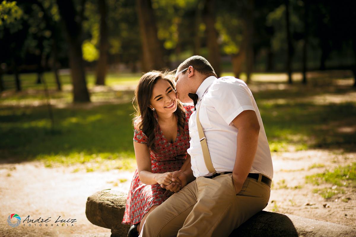 Beijo apaixonado