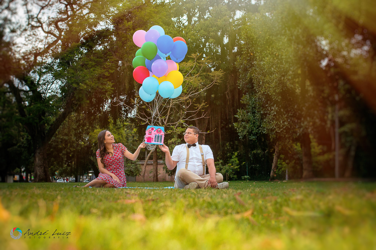 O amor na Quinta da Boa Vista