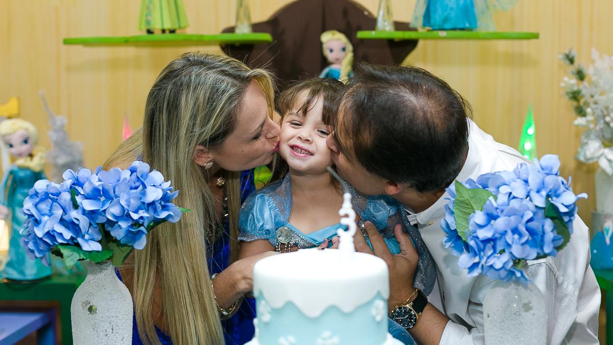 Beijoca na Filhota