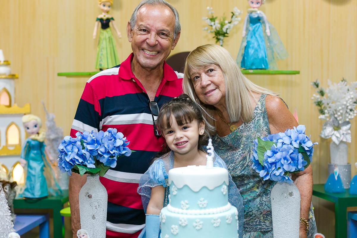 Foto com os avós