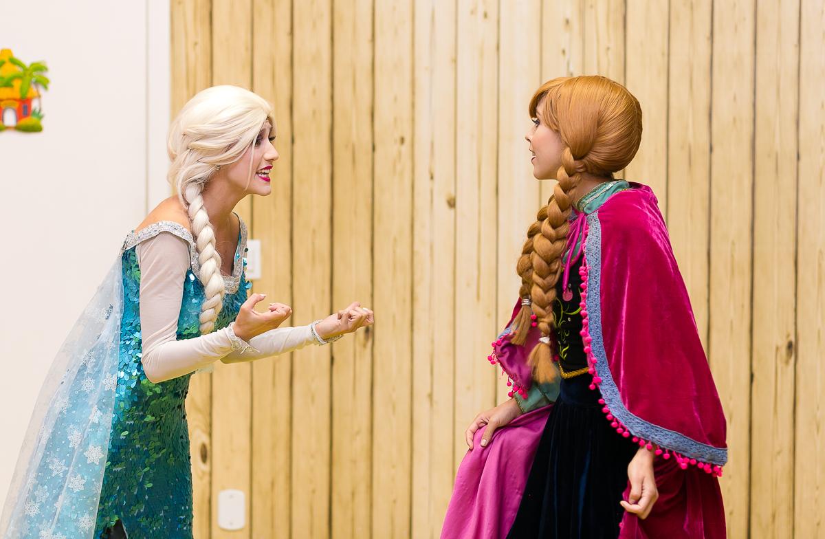 Princesa Elsa e Ana